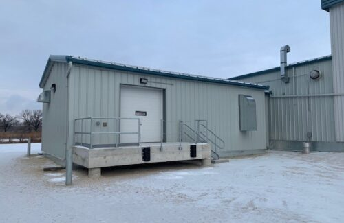 Stephenfield Water Treatment Plant Chemical Storage Facility