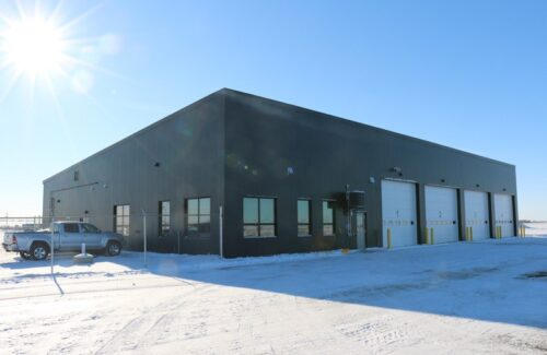 Brandon Airport Vehicle Garage + Office Space